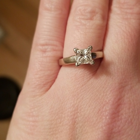 56cc3817a Kay Jewelers Jewelry | Solitaire Engagement Ring 097ct | Poshmark